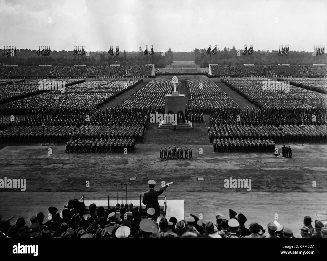 Nuremberg Rally of the NSDAP in Nuremberg, 1936 Stock Photo