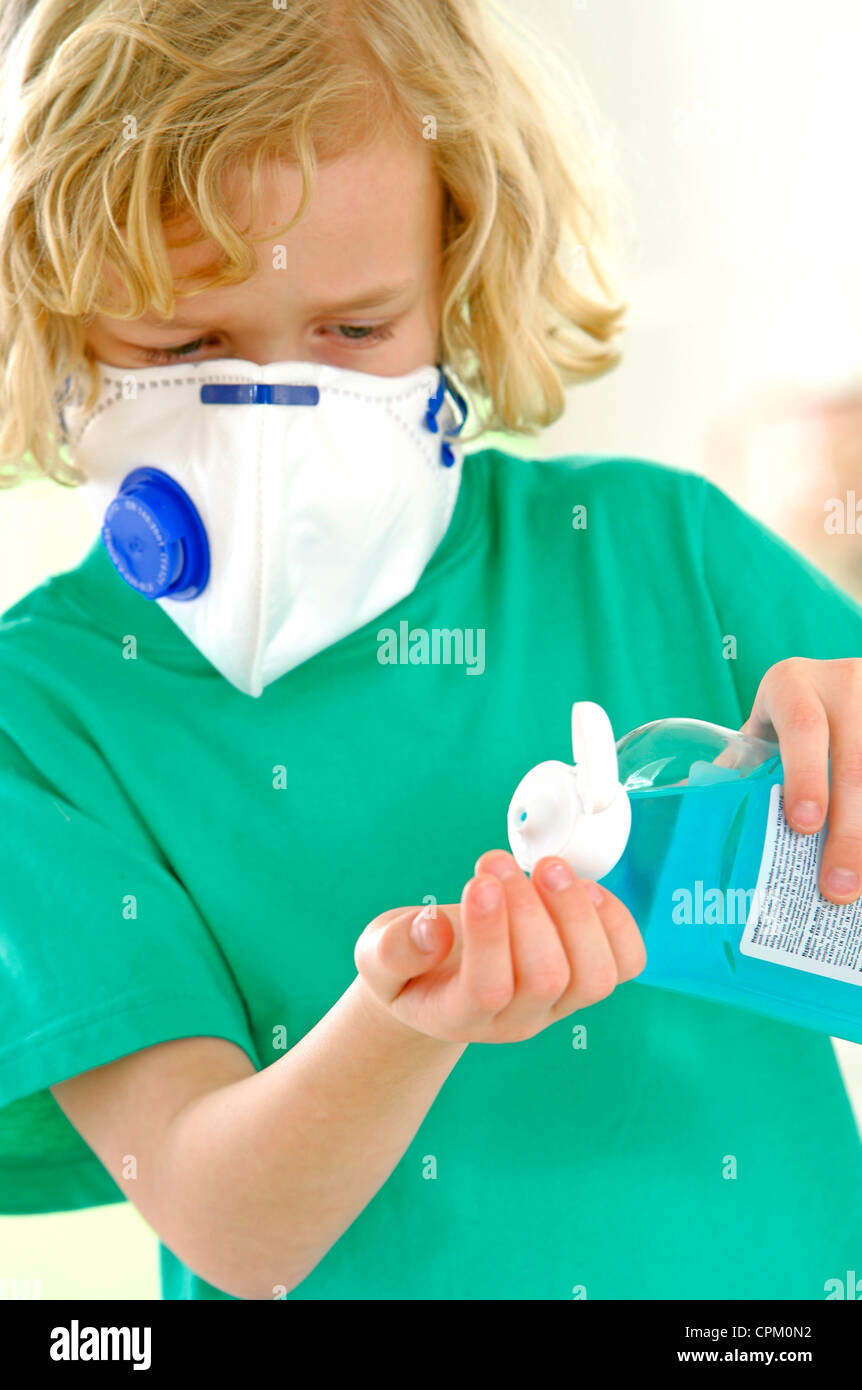 INFECTION PREVENTION - Stock Image
