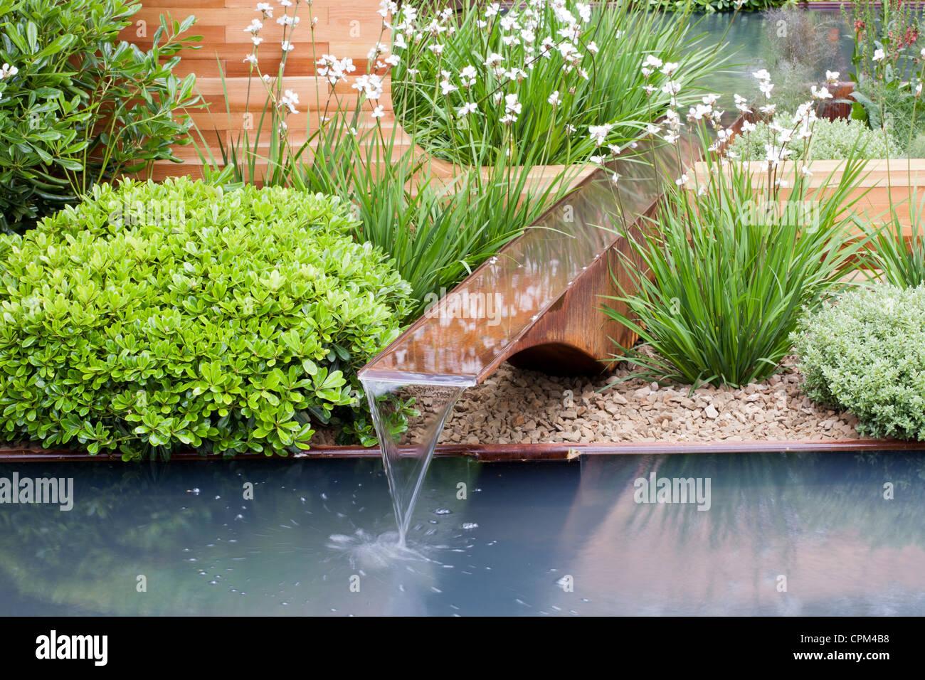 Contemporary Garden Design At RHS Chelsea Flower Show 2012   Homebase  Teenage Cancer Trust Garden, Designer Joe Swift