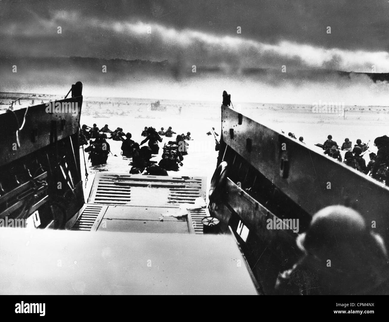 Landing of the Allies in Normandy, 1944 - Stock Image