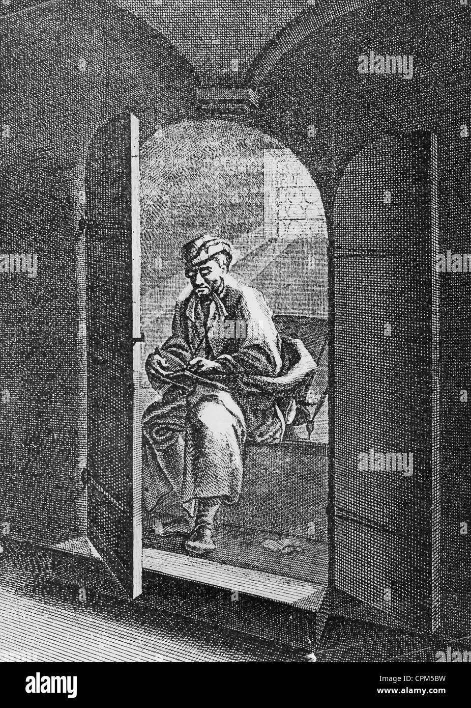Loo, circa 1750 - Stock Image