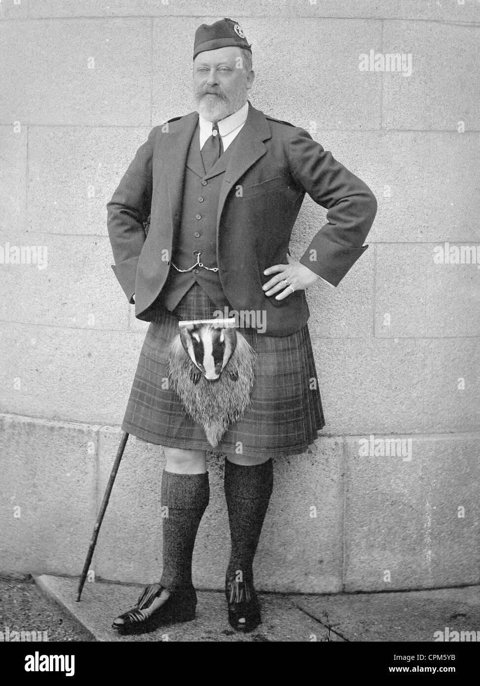 Edward VII, 1905 - Stock Image