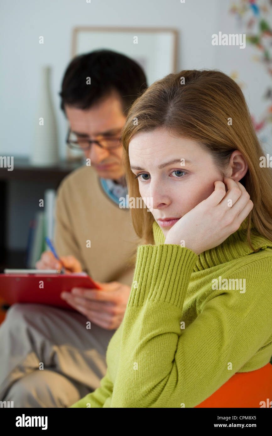 PSYCHOTHERAPY - Stock Image