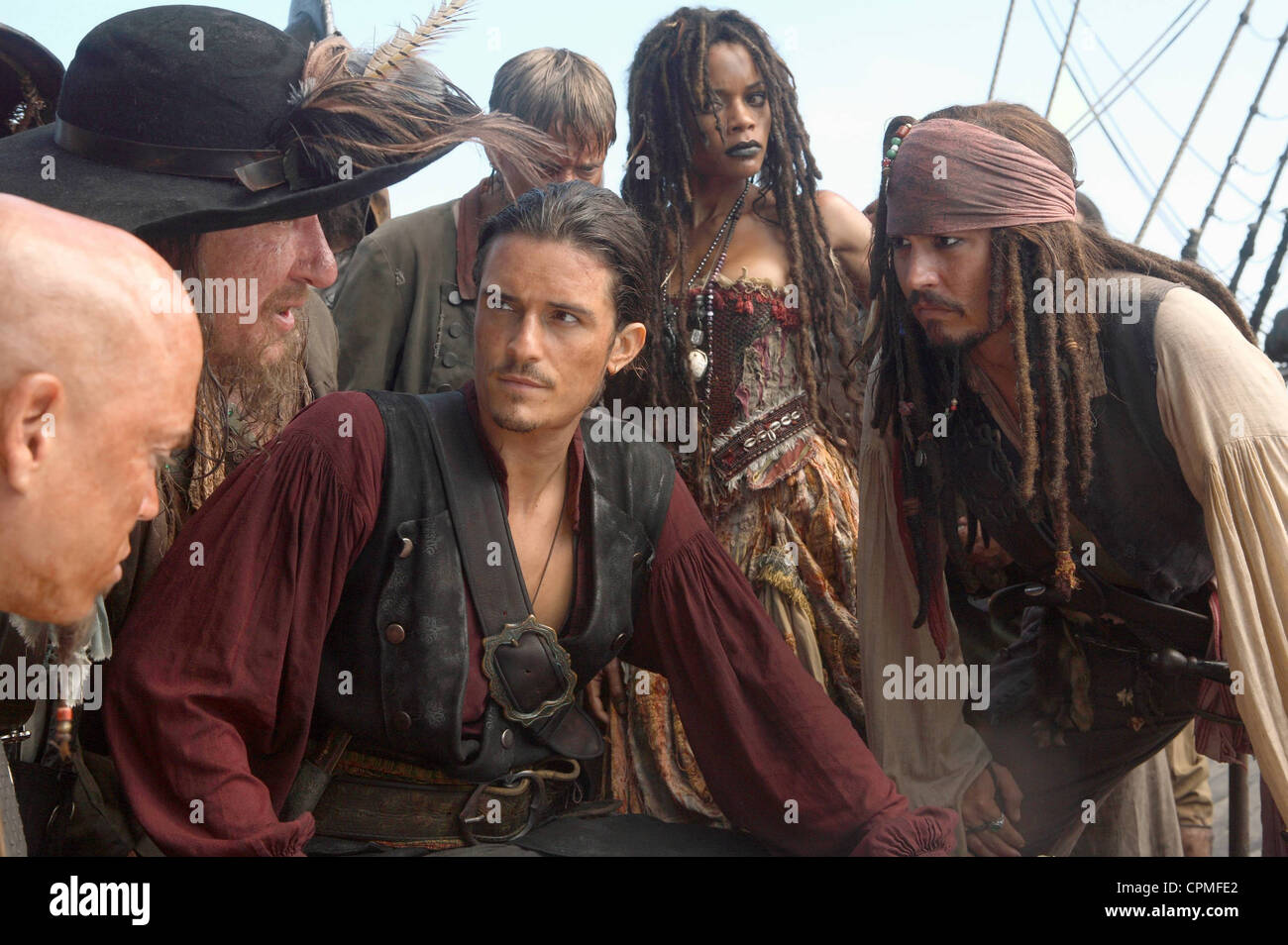 Pirates of the Caribbean: At World's End - Stock Image