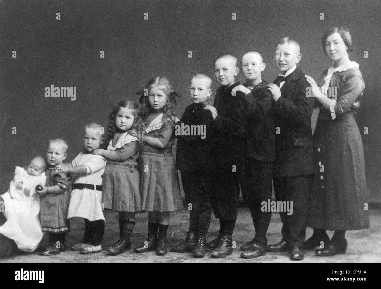 Children, circa 1900