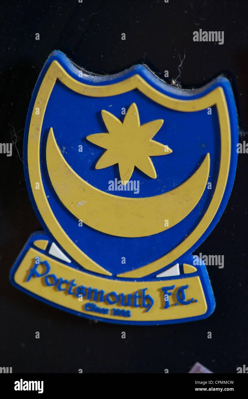 Portsmouth Fottball Club fridge magnet Stock Photo
