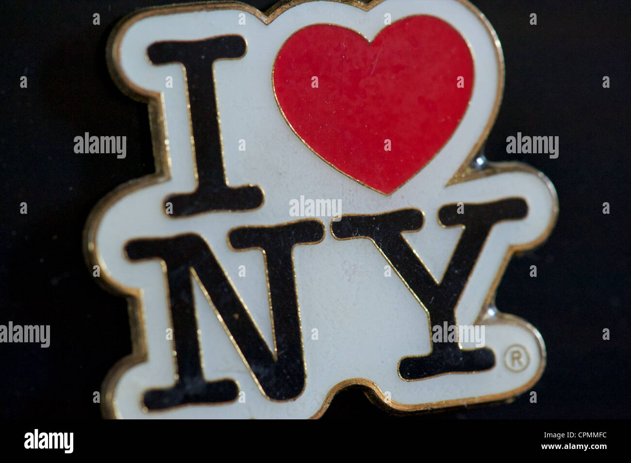 I love New York fridge magnet. Stock Photo