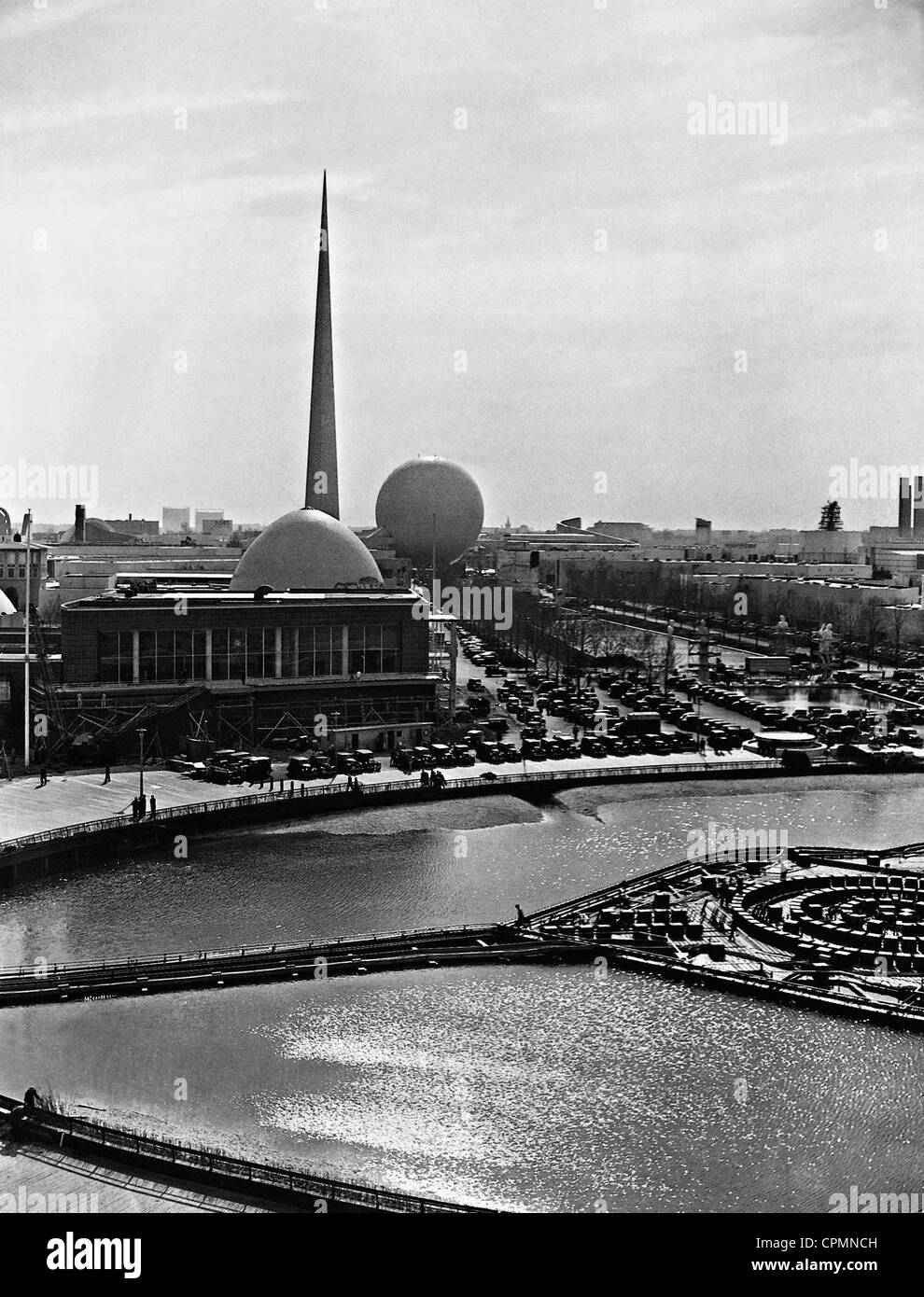 Site of the World Exhibition of New York, 1939 - Stock Image