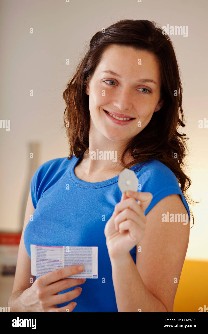 MORNING-AFTER PILL - Stock Image