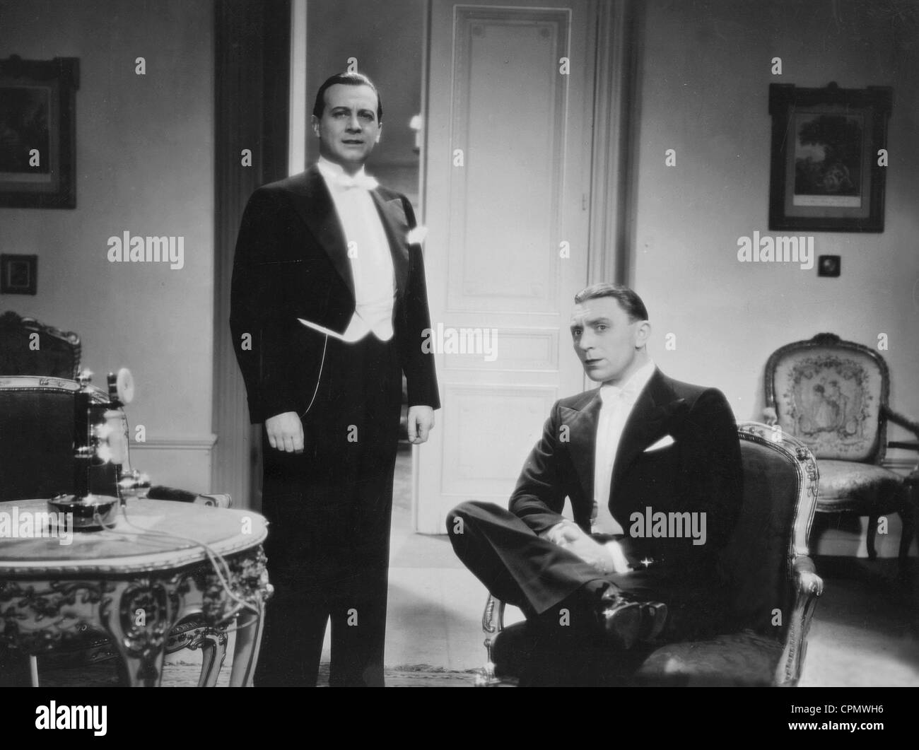 Ivan Petrovich And Theo Lingen In Ungekuesst Soll Man Nicht