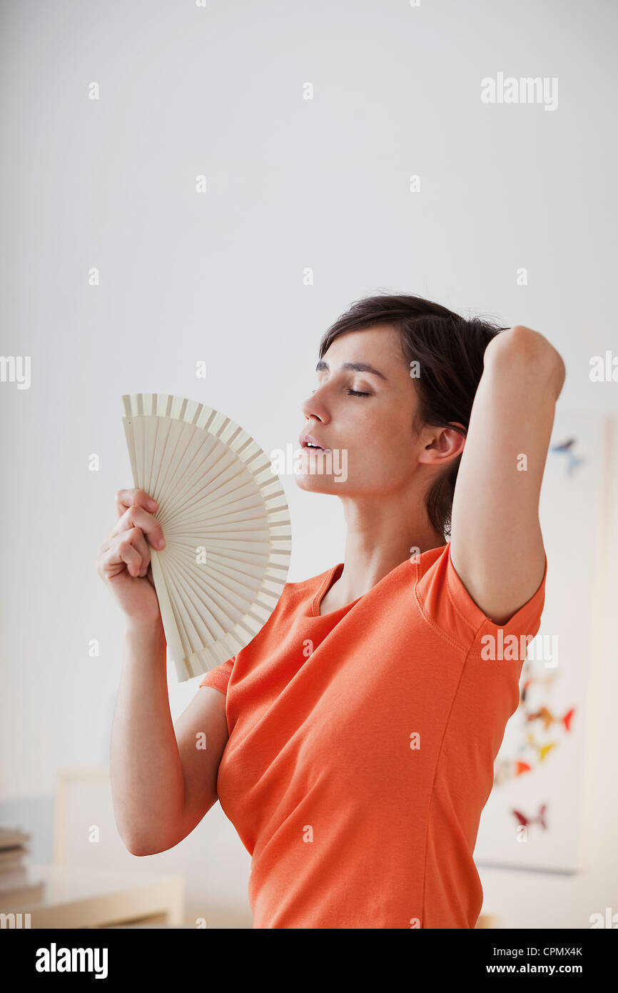 WARM WEATHER, WOMAN - Stock Image