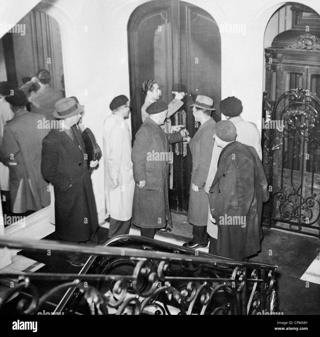 Persecution of Jews in France, 1941 - Stock Image