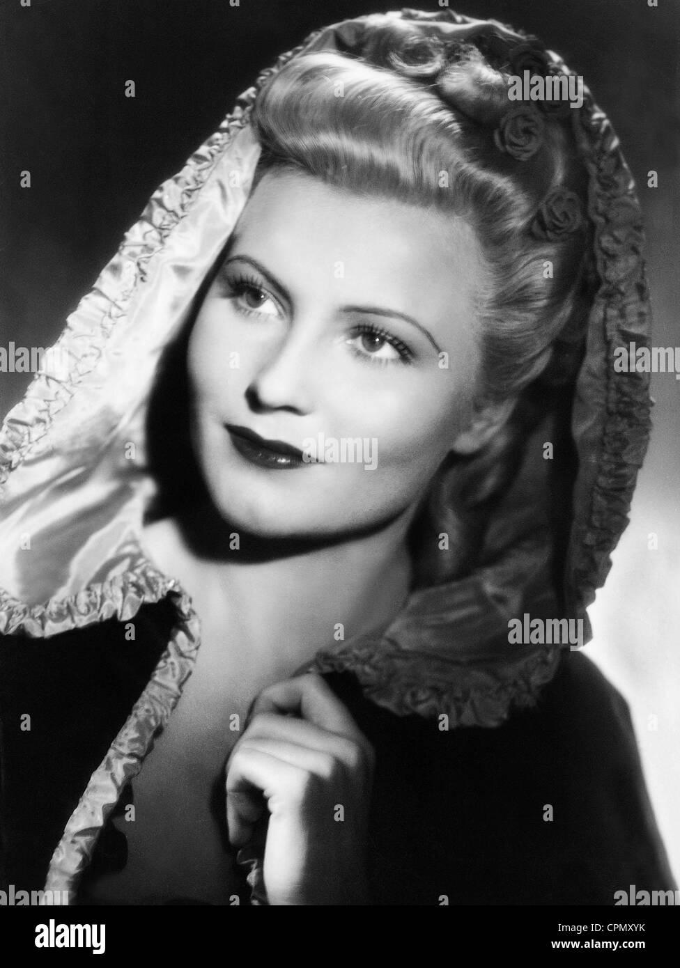 Winnie Markus in 'Whom the Gods Love', 1942 - Stock Image