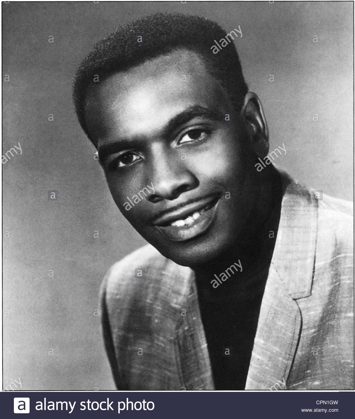 circa 1960's - American soul singer and songwriter William Bell. Editorial use only. Photo Courtesy Granamour - Stock Image