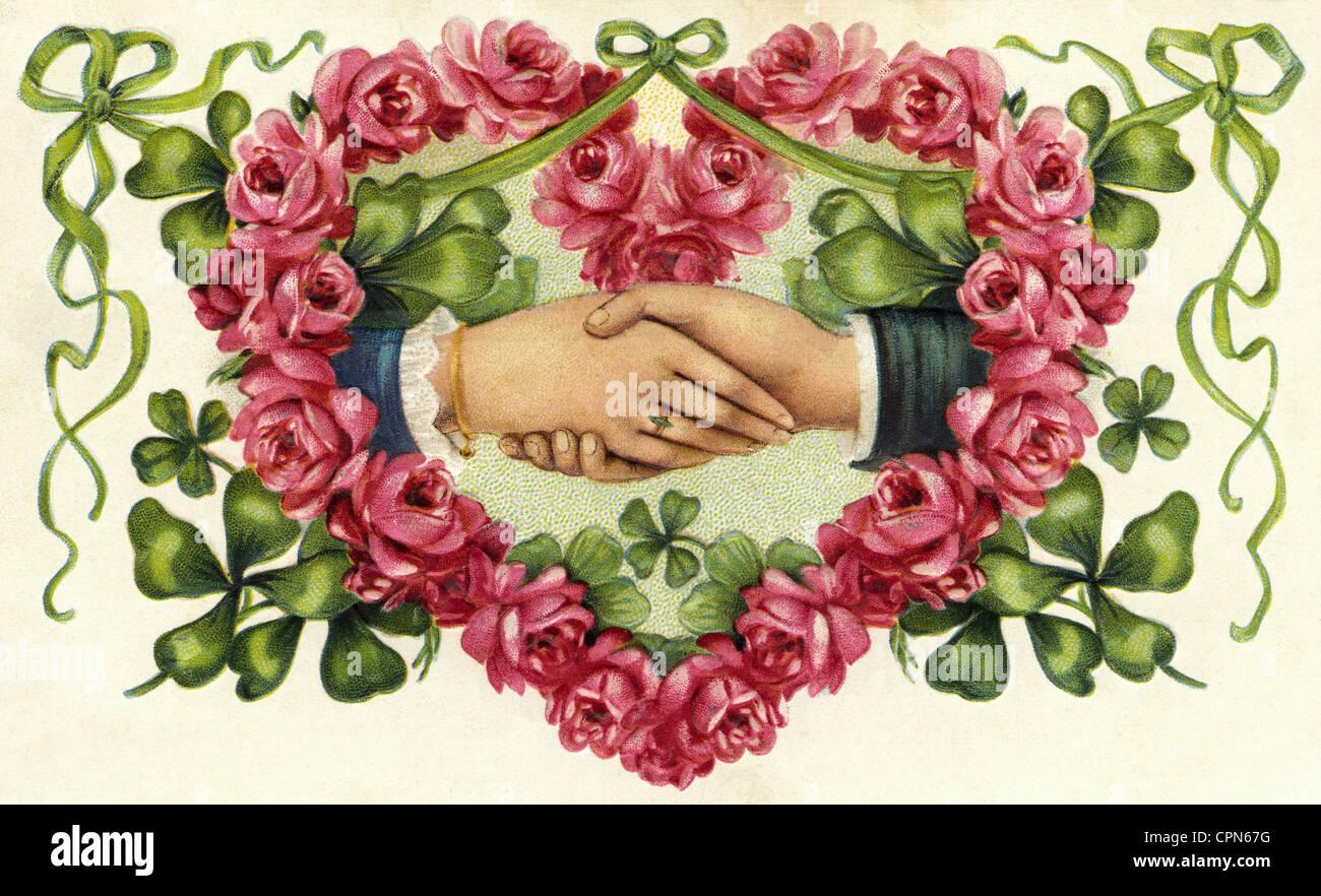Resultado de imagen de marriage handshake