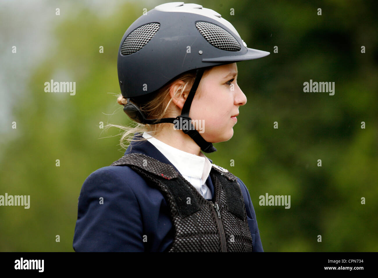 HORSEBACK RIDING - Stock Image
