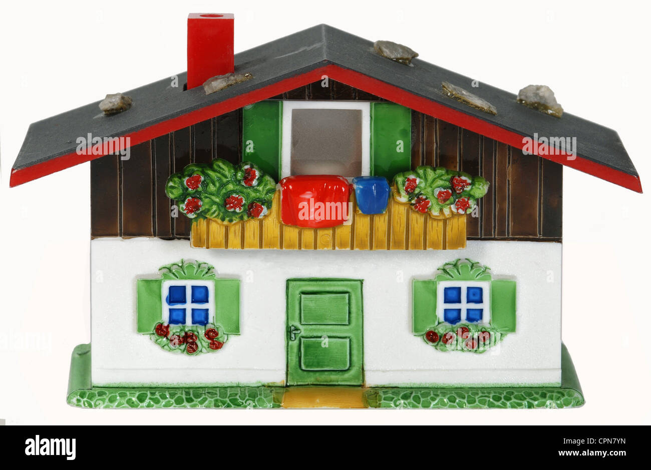 toys, lodge with slideshow function, Austria, circa 1975, Additional-Rights-Clearences-NA - Stock Image