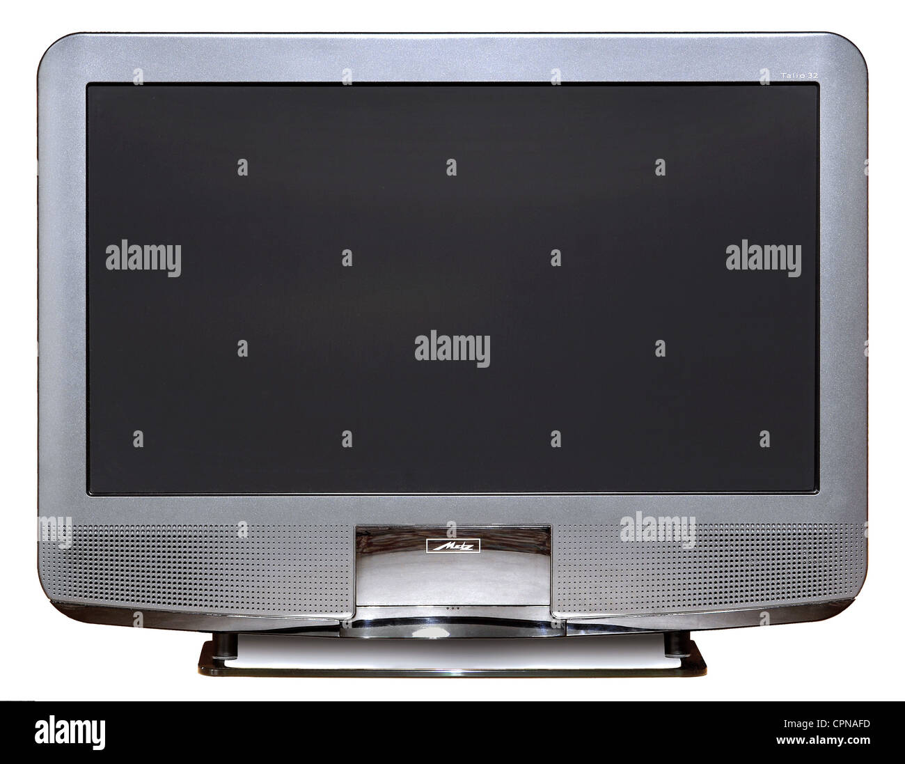broadcast, television, television set, Metz Talio 32, LCD TV, screen diagonal: 81 centimeter, original price: 1.998 - Stock Image