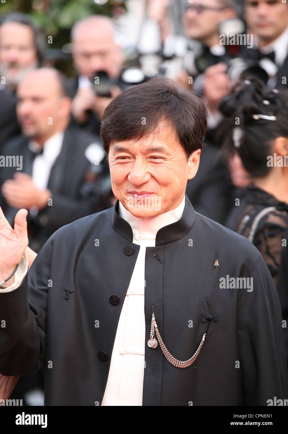 Jackie Chan at the gala screening of the film De rouille et d'os at the 65th Cannes Film Festival. Thursday - Stock Image