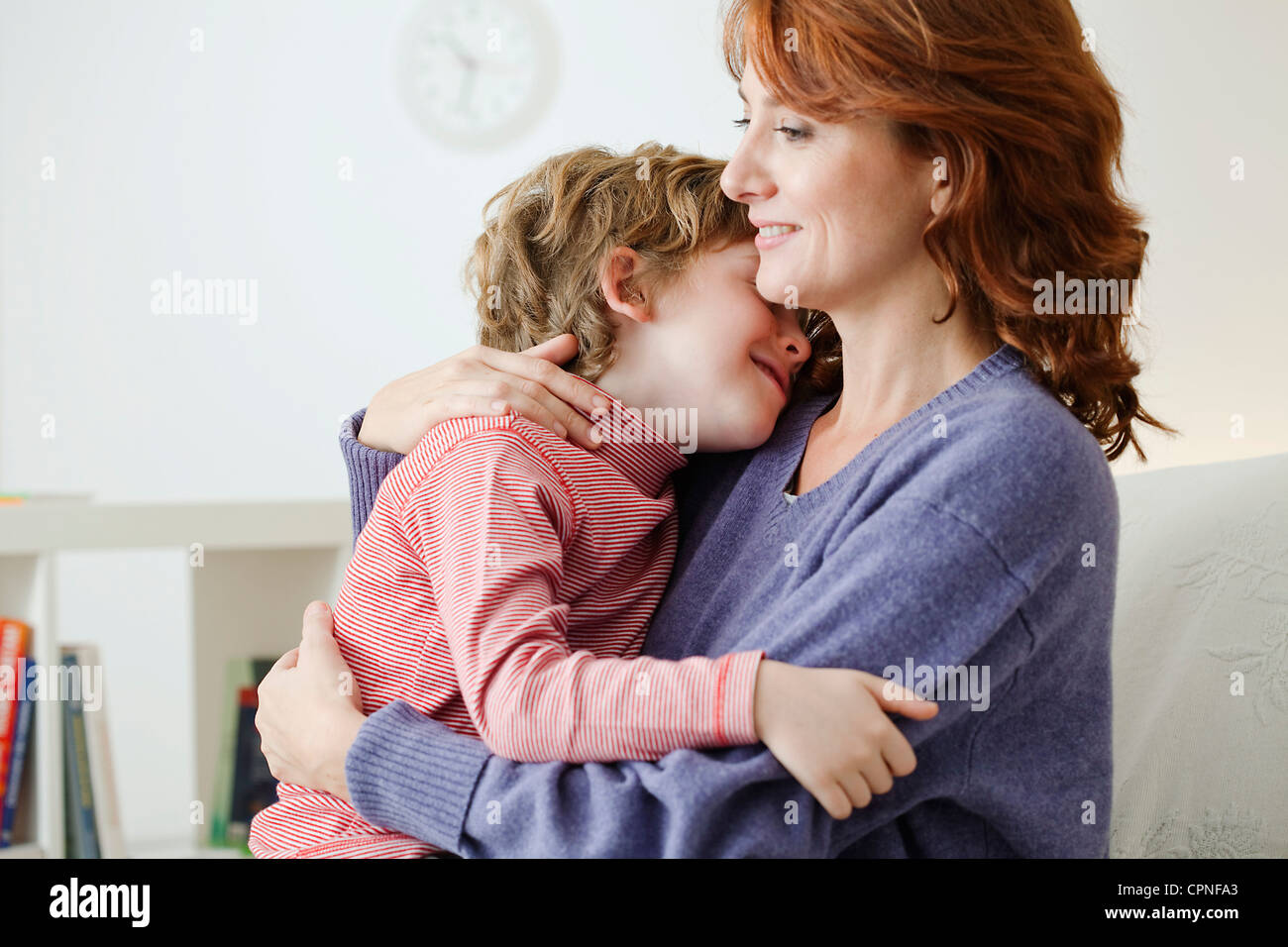 MOTHER & CHILD - Stock Image