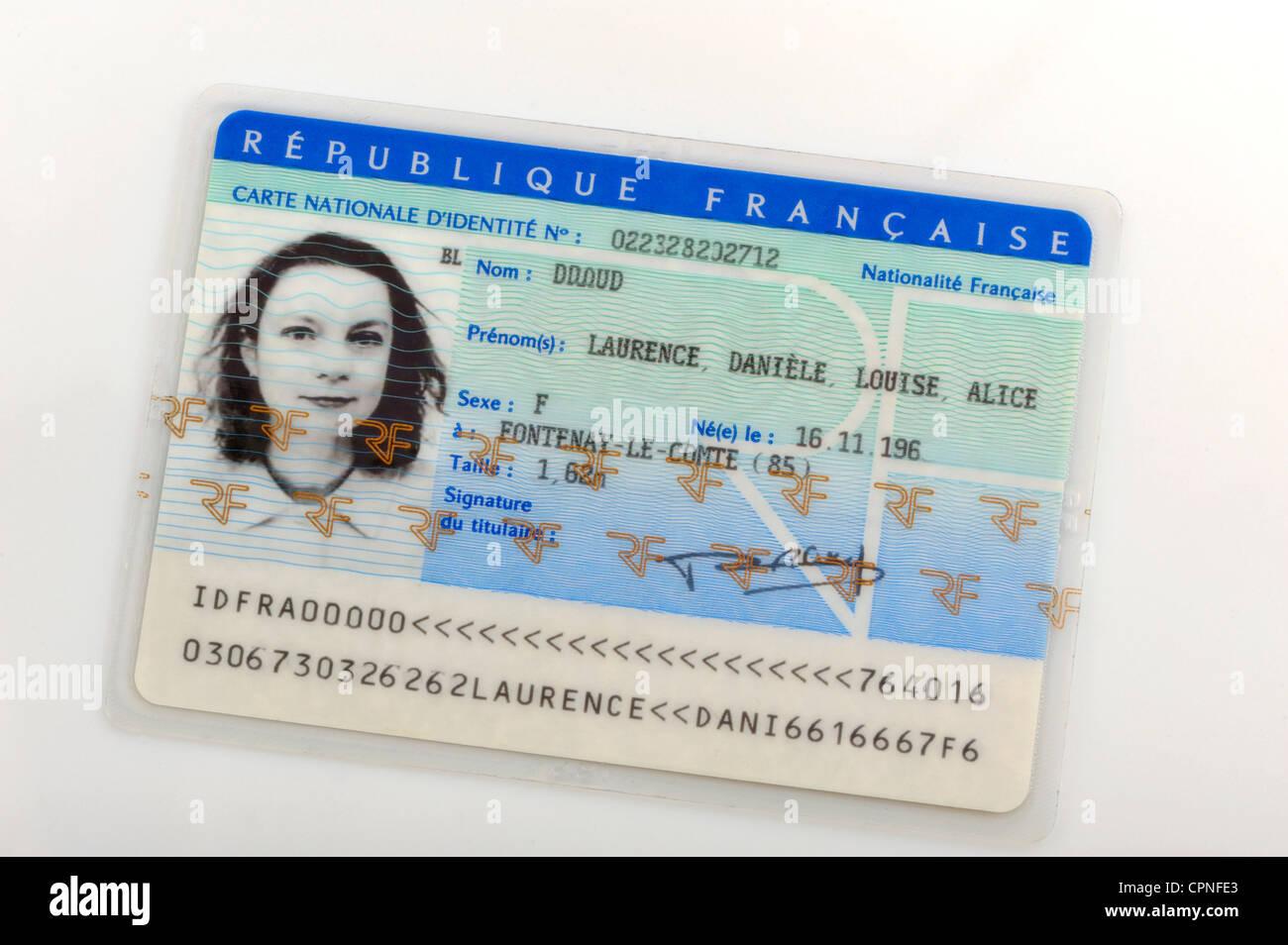 - Alamy Stock Card 48416315 Identity Photo