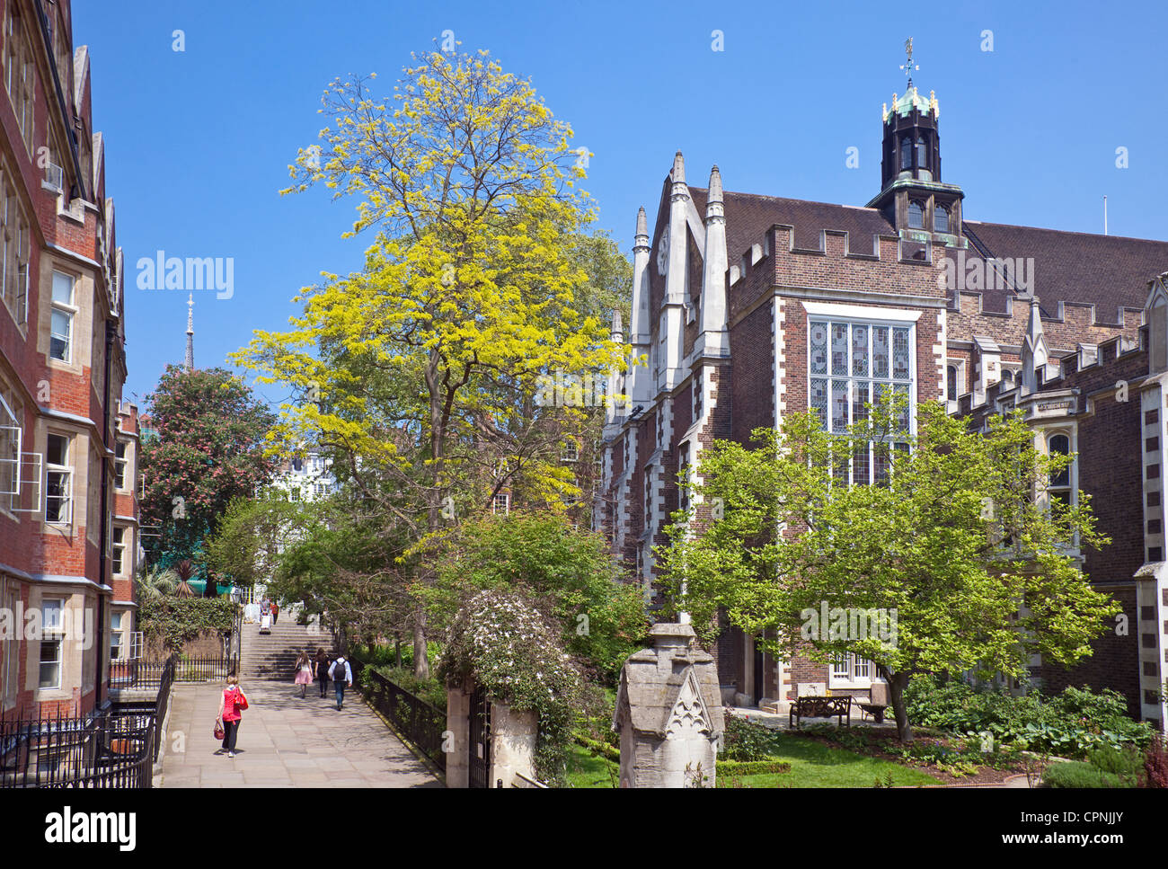 City of London, Middle Temple May 2012 Stock Photo