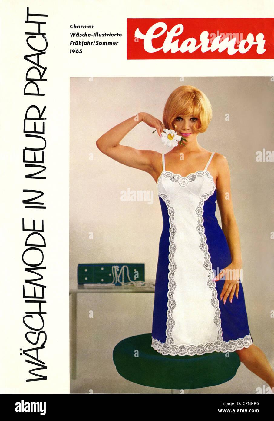 a3414e11c32 advertising, fashion, Charmor lingerie fashion, prospectus Stock ...