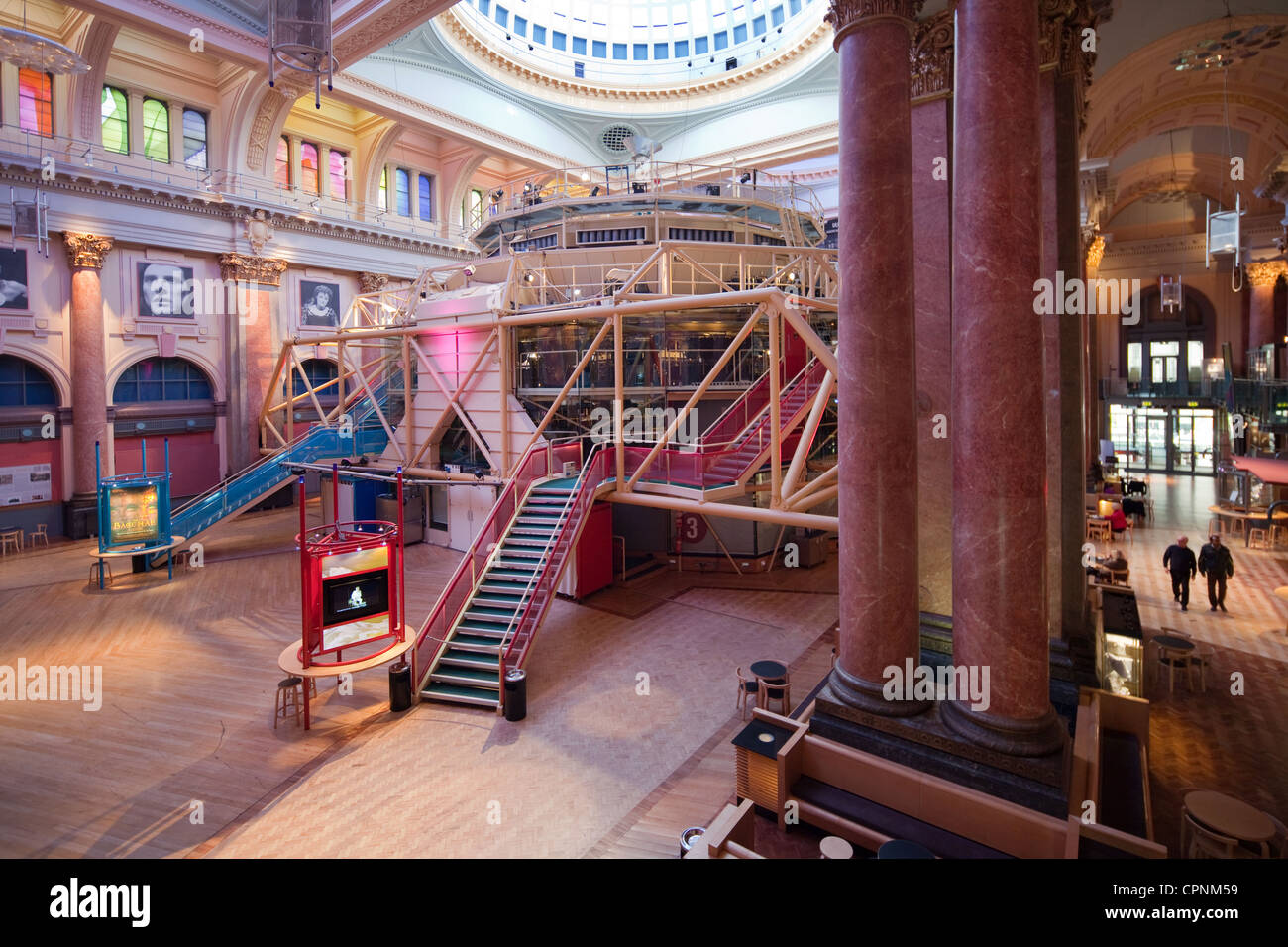 Manchester Northern England UK Royal Exchange Theatre Stock Photo