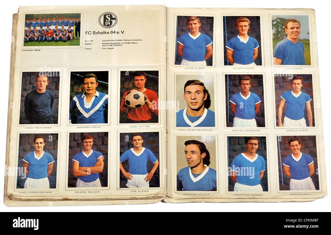 sports football team fc schalke 04 football scrapbook national