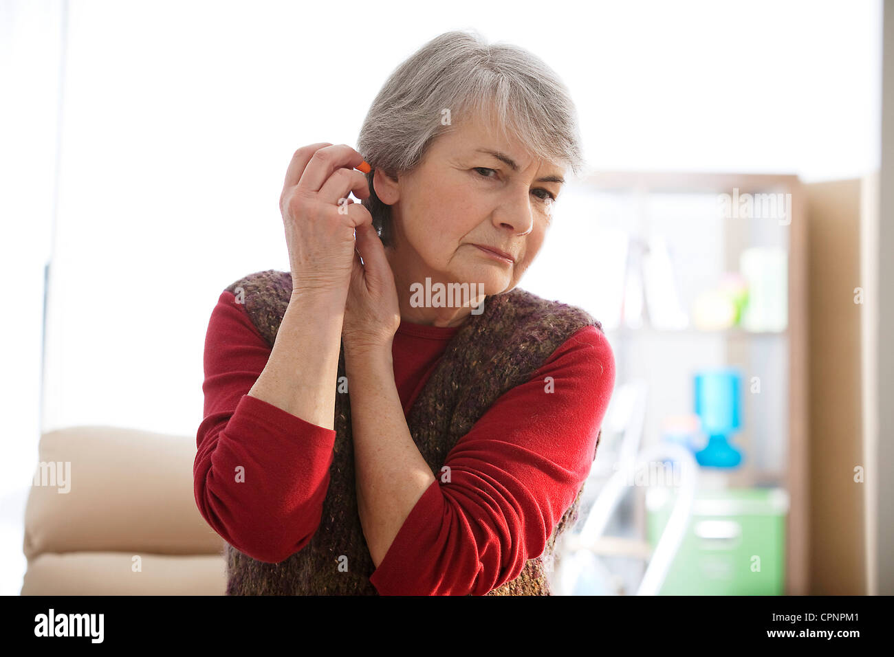 NOISE CONTROL - Stock Image