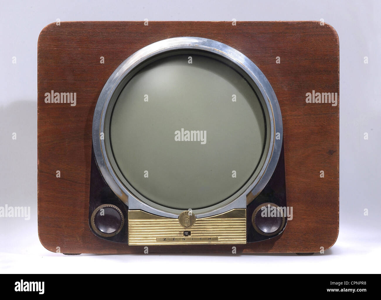broadcast, television, television set Zenith Modell H2228R, wooden