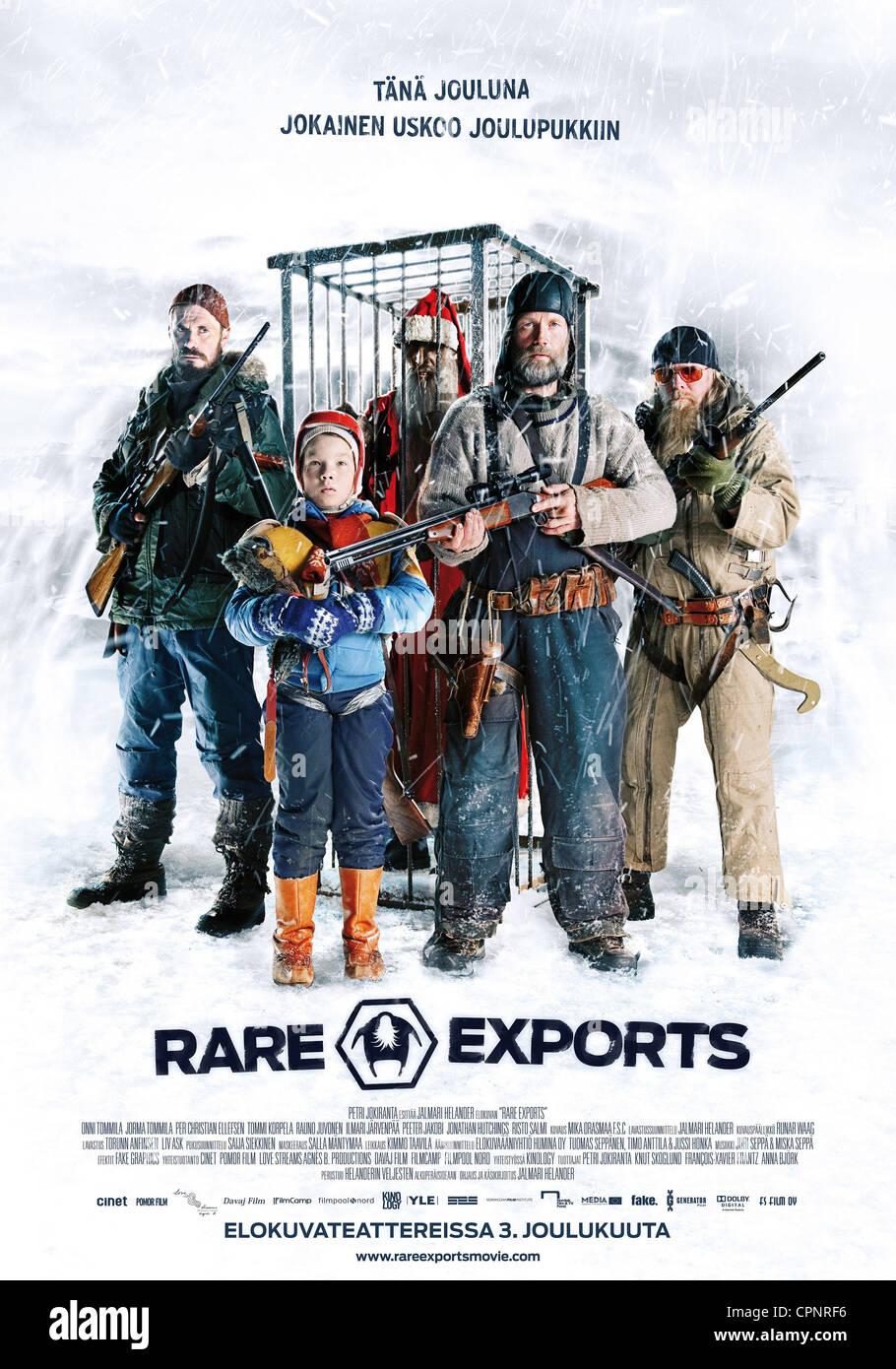 Rare exports - Stock Image