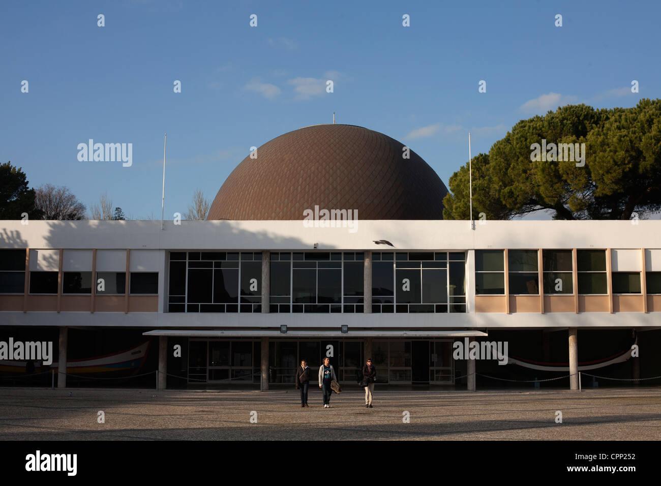 The Calouste Gulbenkian Planetarium, Lisbon, Portugal. - Stock Image