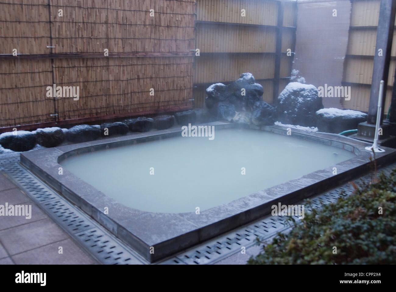 Japanese Man Bathing Stock Photos & Japanese Man Bathing Stock ...