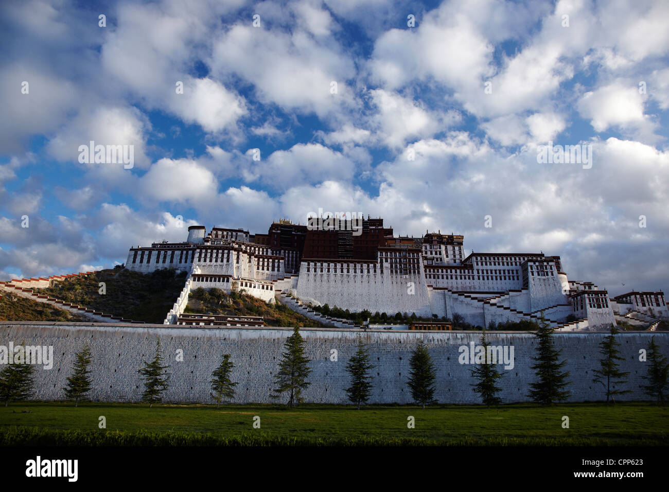 Potala Palace,Tibet,Highland,sky - Stock Image
