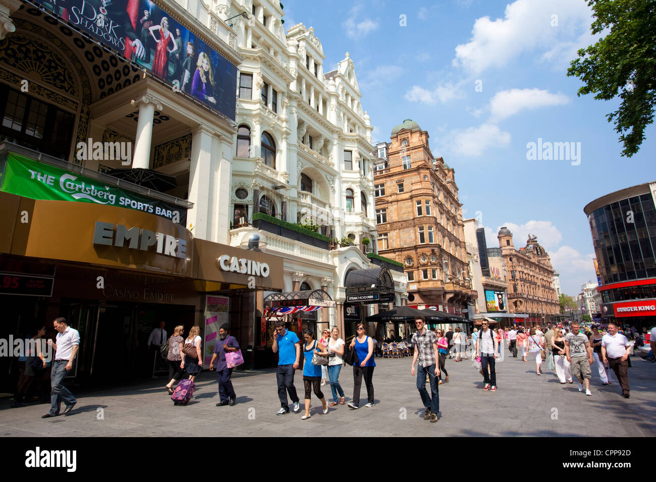 Leicester Square, West End, London, United Kingdom - Stock Image