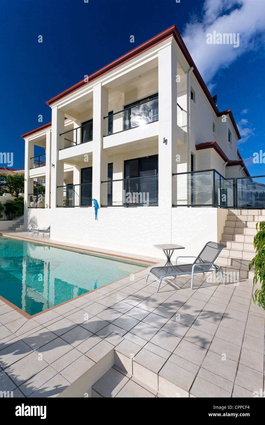 Two Storey Luxury House With Swimming Pool