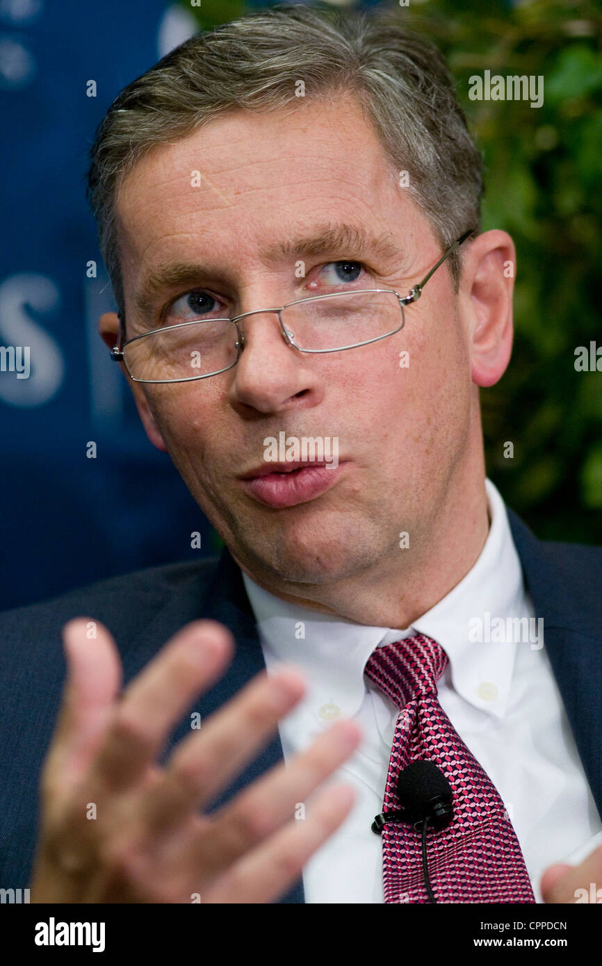 Klaus Kleinfeld, chairman and CEO of Alcoa Inc. Stock Photo
