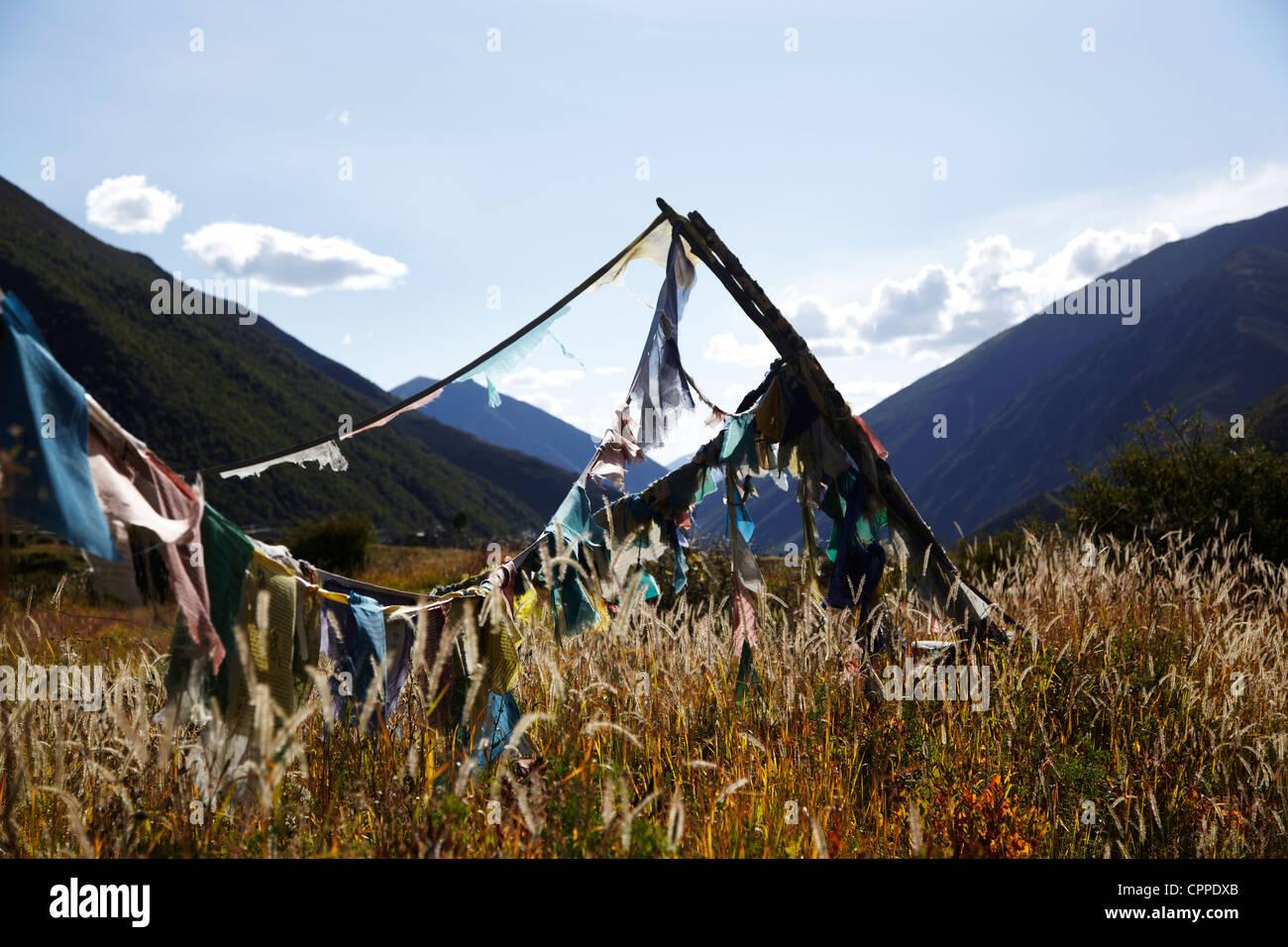 Tibet - Stock Image