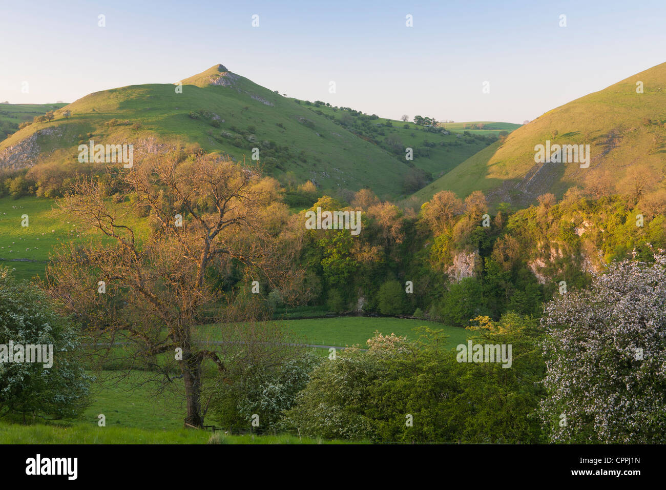 The Manifold Valley, Staffordshire, Peak District, England UK Stock Photo