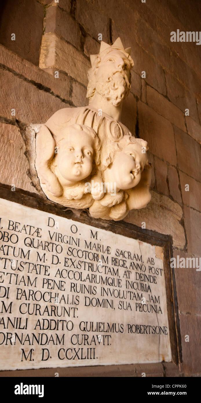 King James IV of Scotland - Stock Image