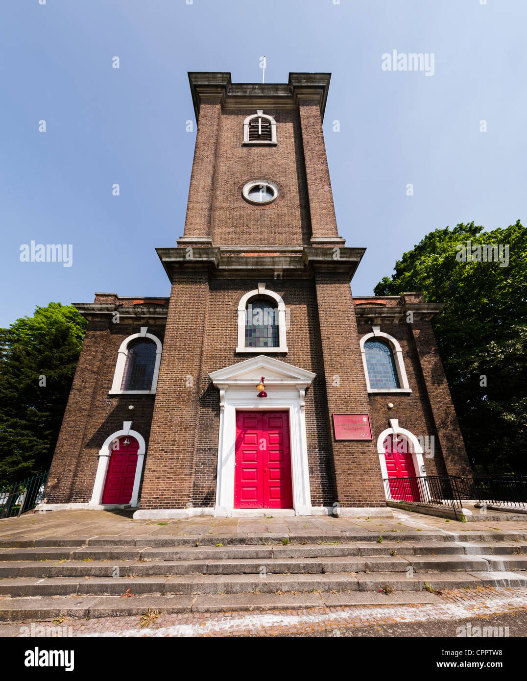 The St Mary Magdalene Parish Church in Woolwich, Greenwich. Stock Photo