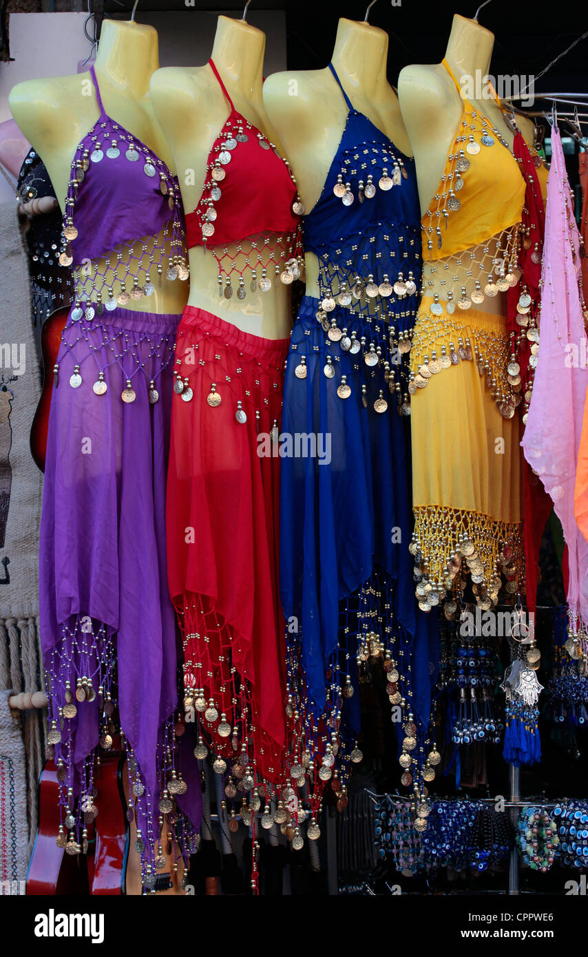 Belly Dance Costume For Sale In Khan El Khalili A Major Souk In The Stock Photo Alamy