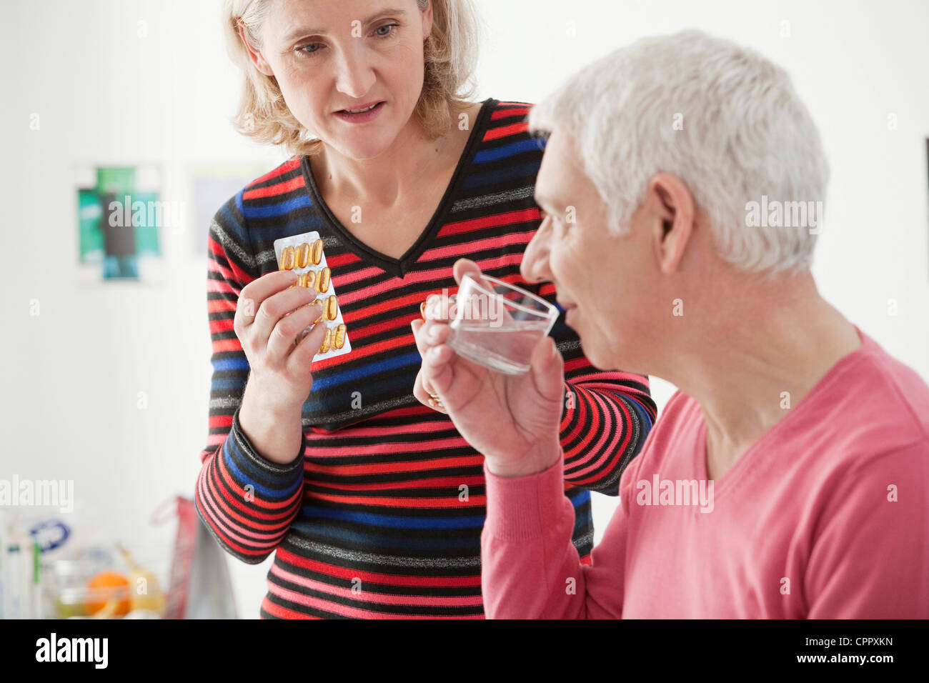 FOOD SUPPLEMENT - Stock Image