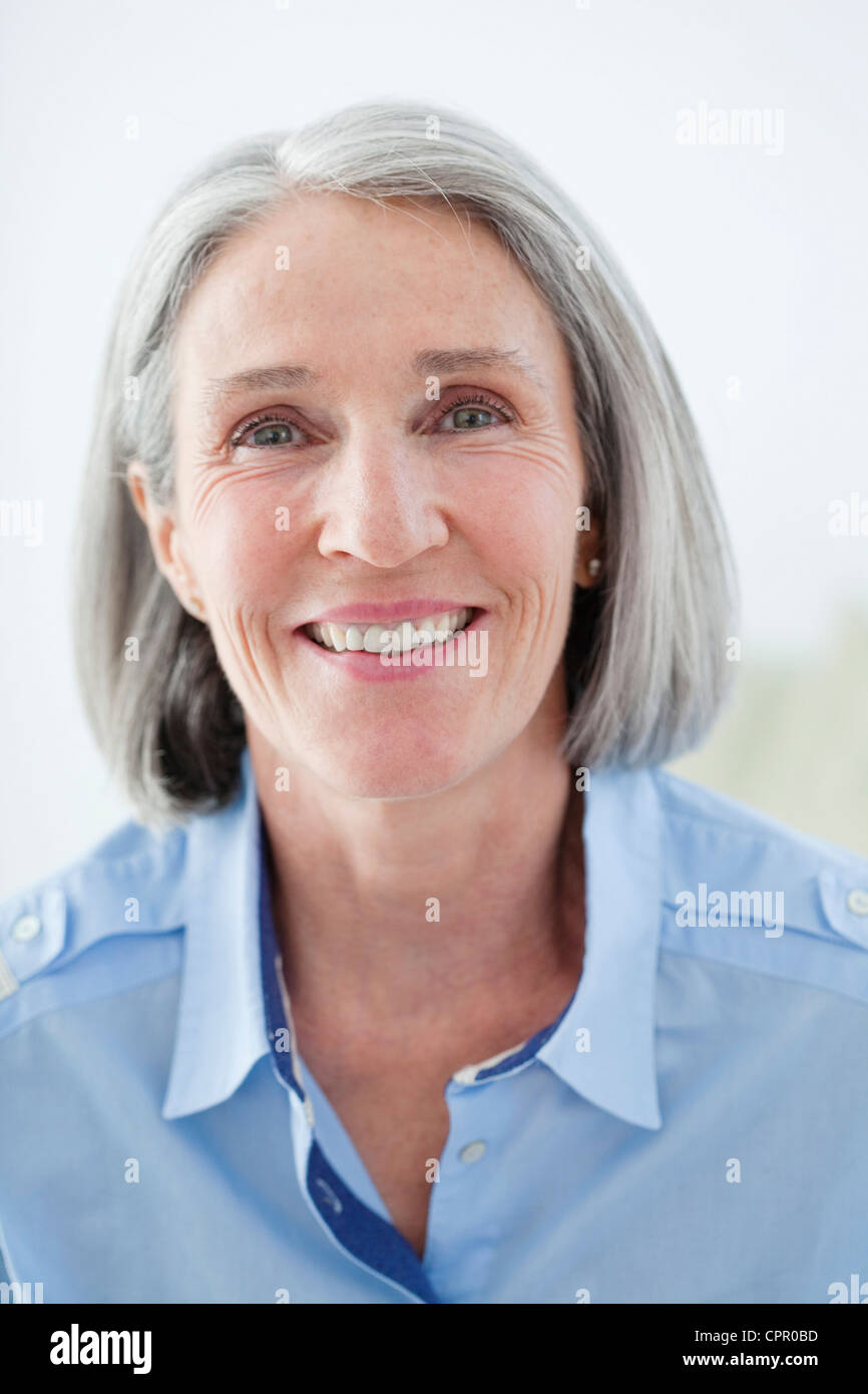 Pretty 70 year old woman