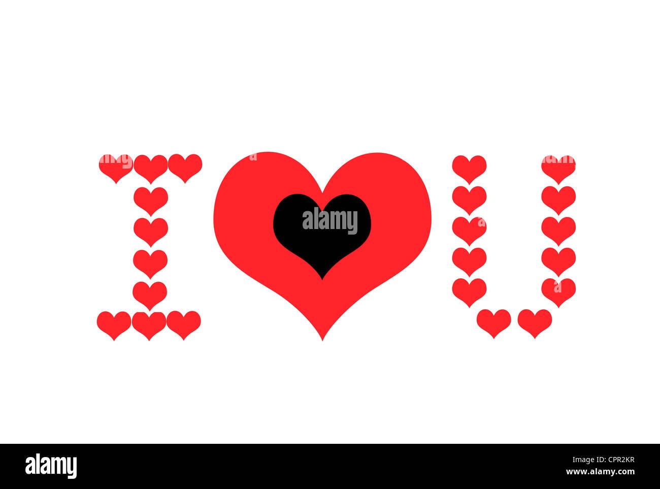 Symbolic representation of i love you or i heart you stock photo symbolic representation of i love you or i heart you spiritdancerdesigns Images