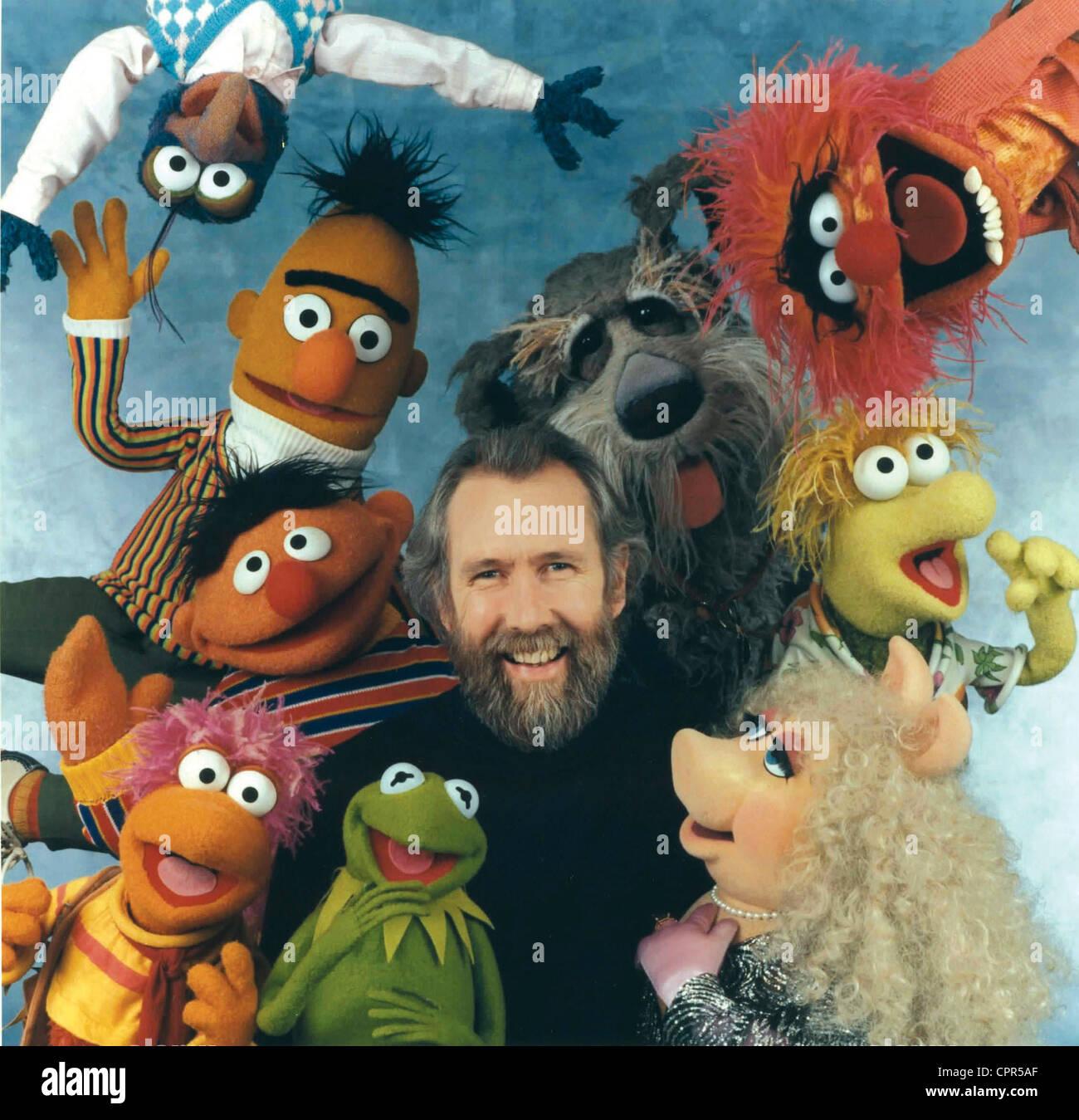 Jim Henson et les Muppets - Stock Image