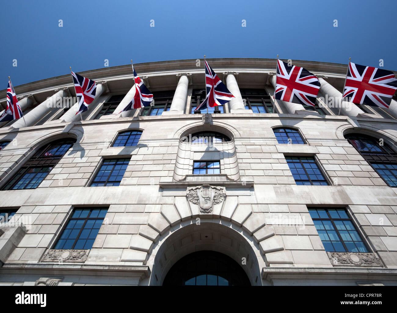 Unilever House, Victoria Embankment, London Stock Photo