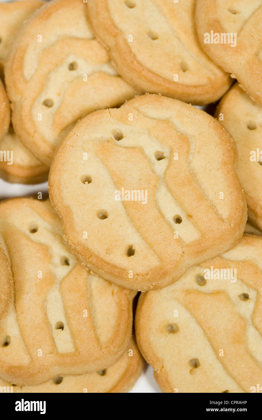 Trefoils Girl Scout cookies.  - Stock Image