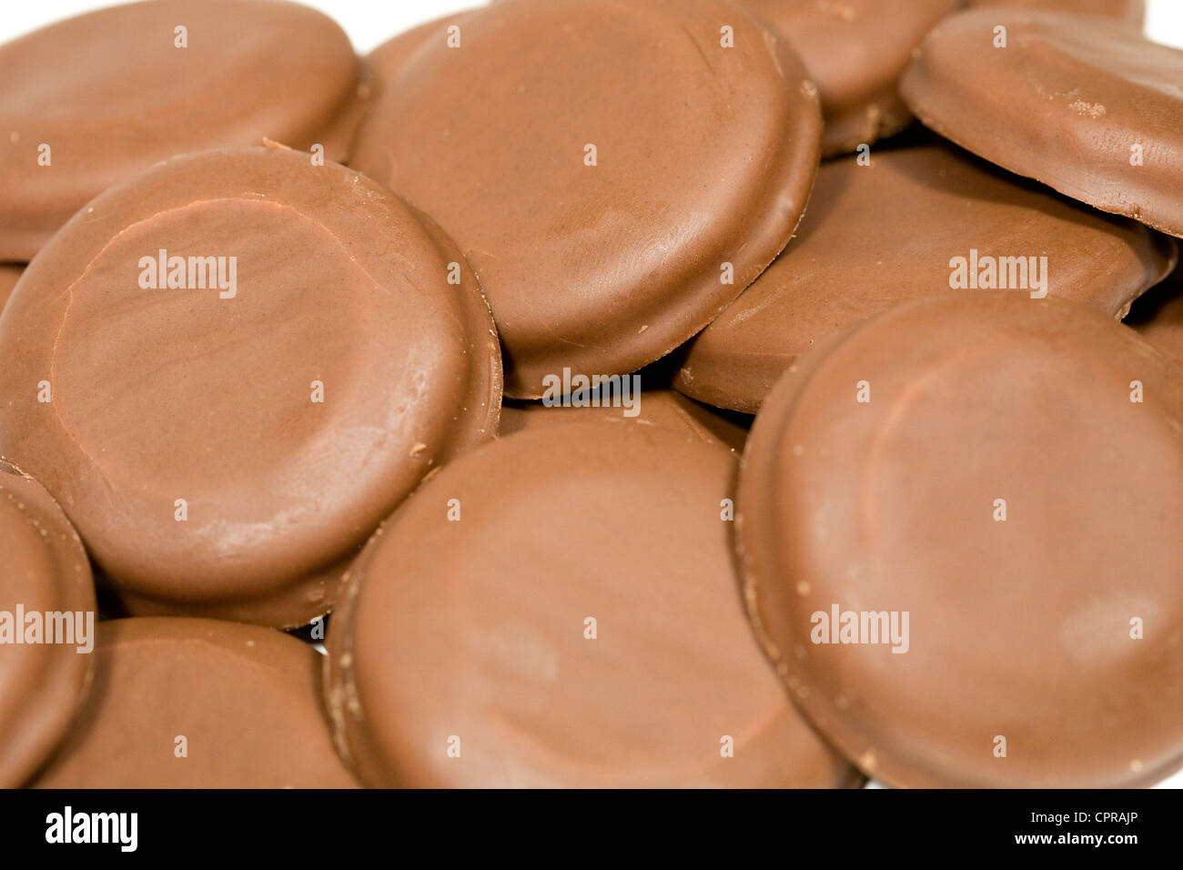 Tagalongs Girl Scout cookies.  - Stock Image